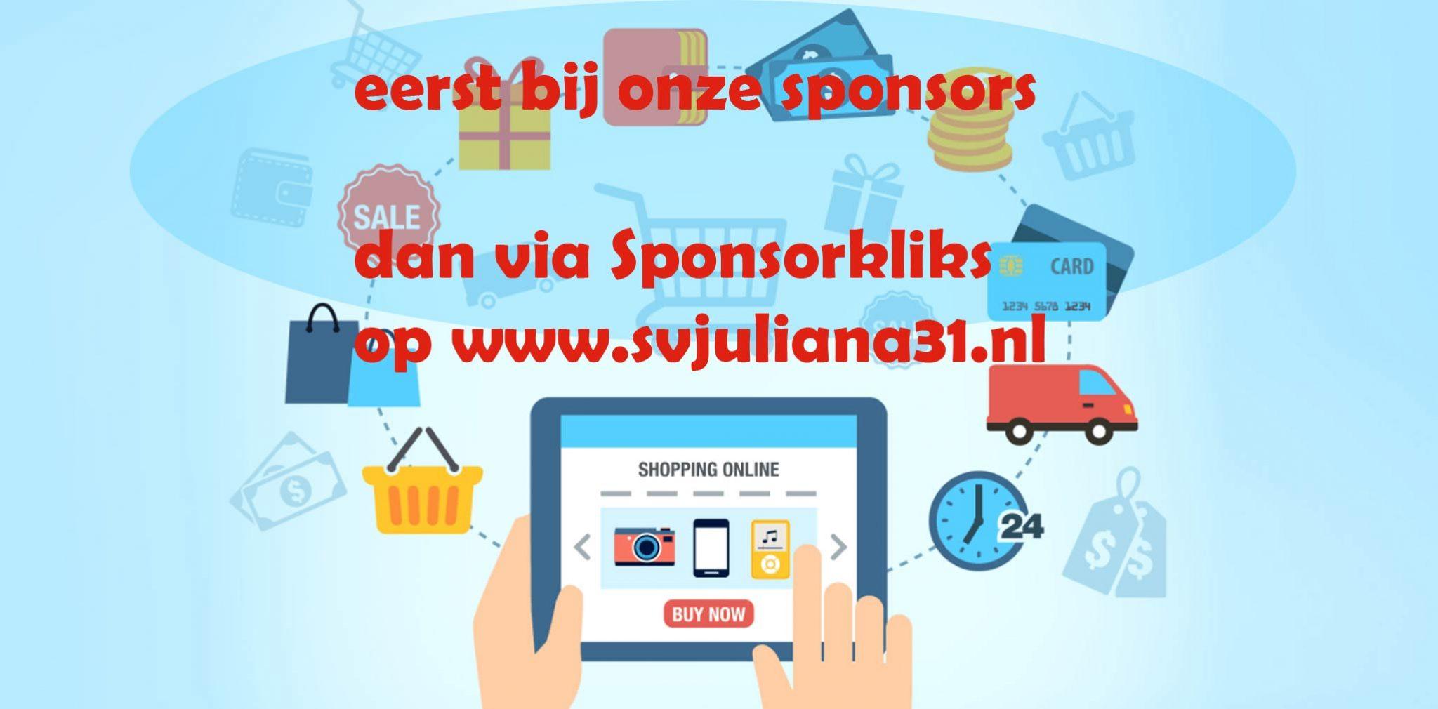 Online kopen: vergeet onze sponsors niet!